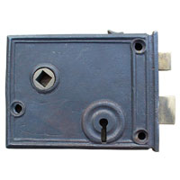 Cast Horizontal Rim Lock
