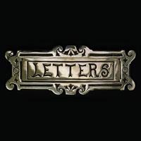 Engraved Letter Plate