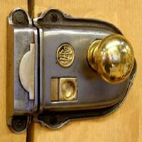 Iron Rim Lock