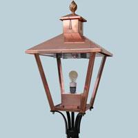 Square Copper Lamp