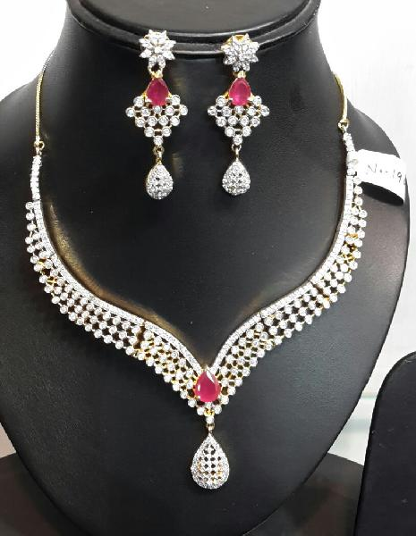 Diamond Necklace Set