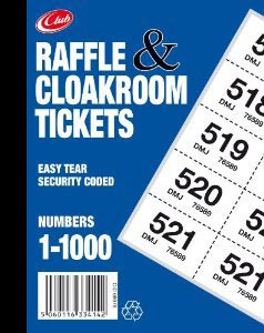 Raffle & Cloakroom Tickets