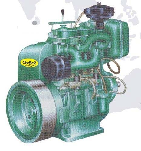 Sefex Diesel Engine (10HP to 20HP) 01