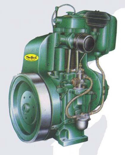 Sefex Diesel Engine (3.5HP to 12.5HP) 01