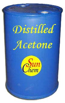 Distilled Acetone Solvent