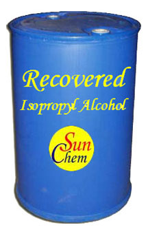 Recovered Isopropyl Alcohol Solvent