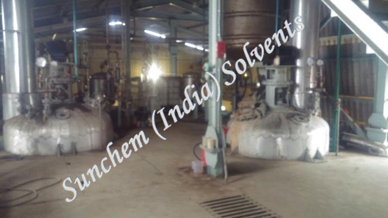 Spent Solvent Distillation