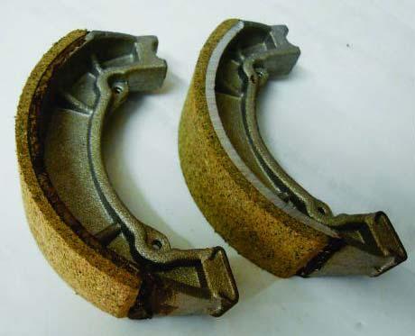 Bajaj Two Wheeler Brake Shoe