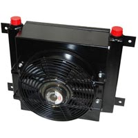 Oil Cooler with Fan
