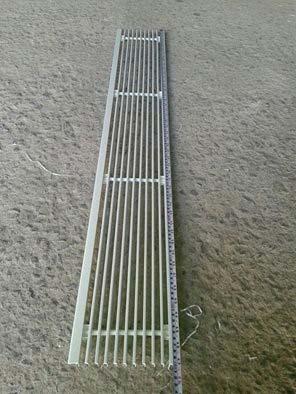 Aluminum Linear Grill 01