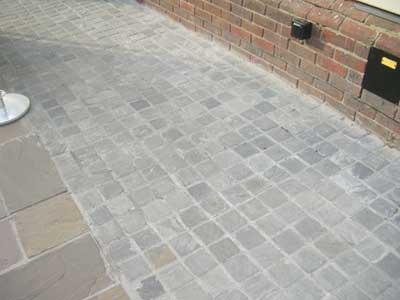 Kandla Grey Sandstone Cobble