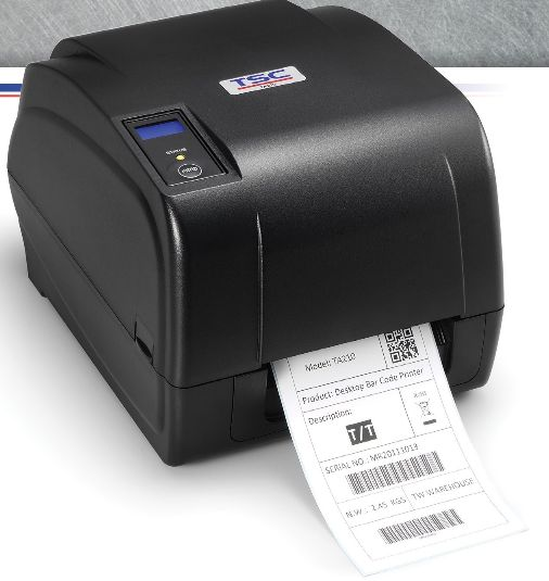 TSC Desktop Thermal Barcode Printer (TA210 Series) 01