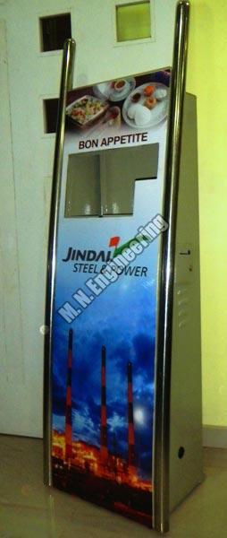 Mild Steel Kiosk