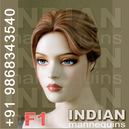 Female Mannequin Head
