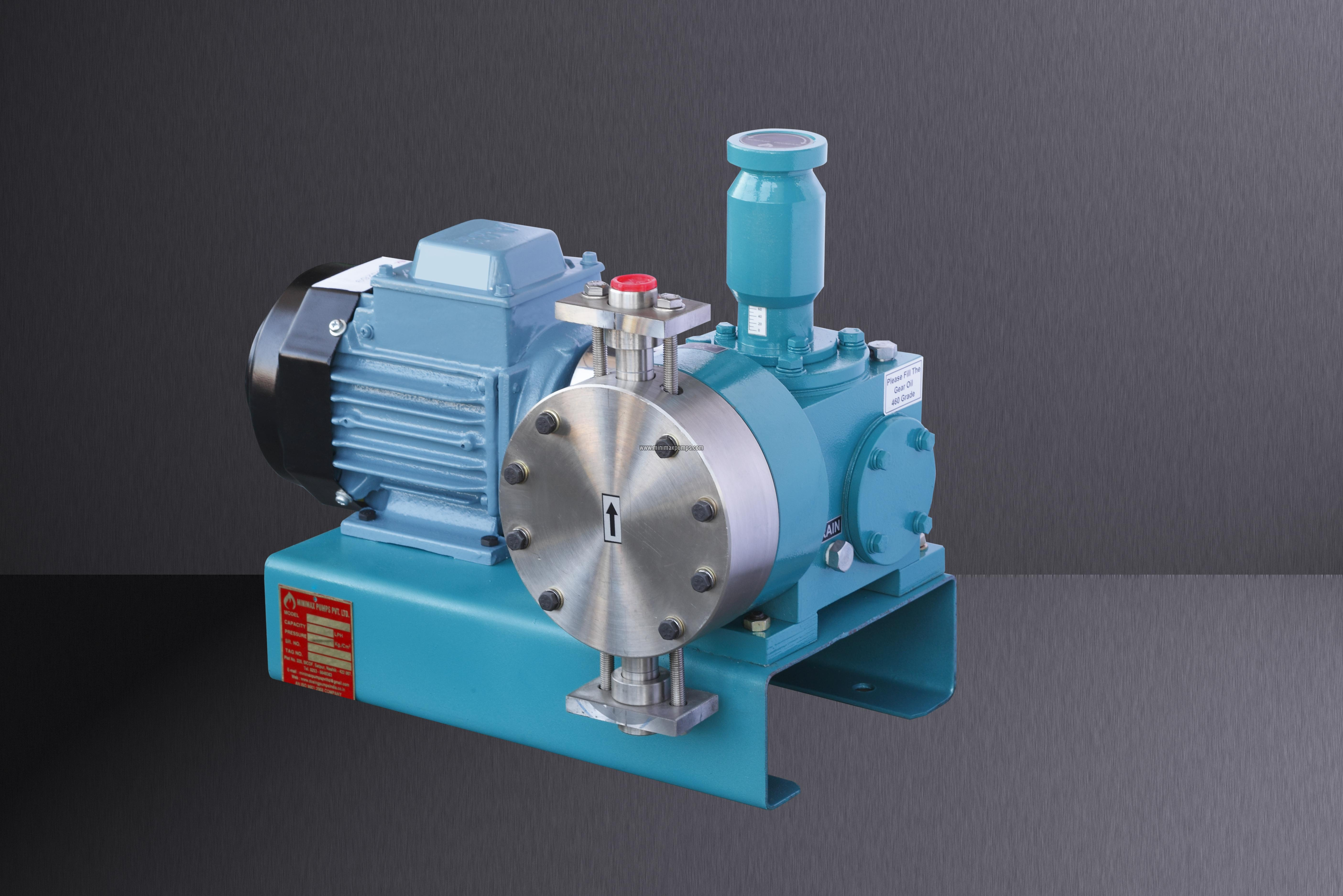Horizontal Mechanically Actuated Diaphragm Pumps