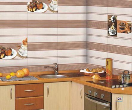 250x375mm Kitchen Series Digital Wall Tiles