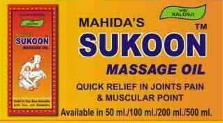 Sukoon Massage Oil 01