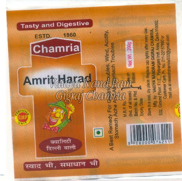 Amrit Harad Tablets