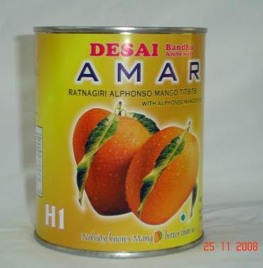 Alphonso Mango Tidbits