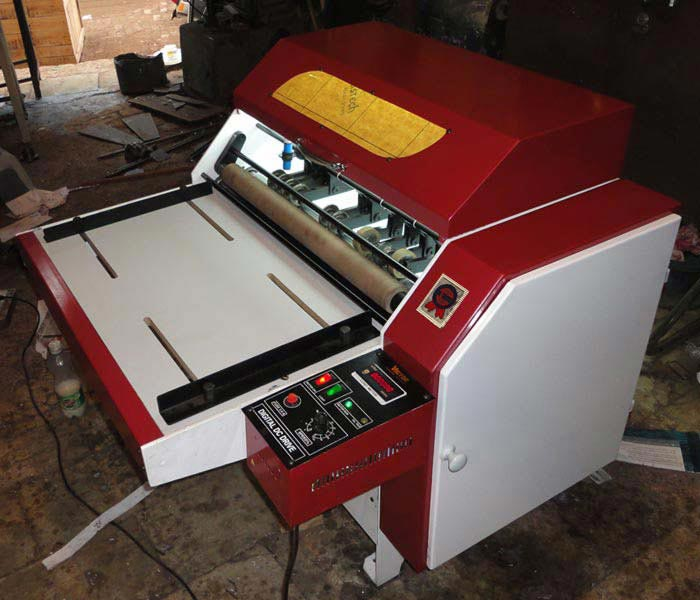 We Are A Leading Firm Involved In Manufacturing Exporting Supplying Half Cut Sticker Label Cutting Machines From Punjab India