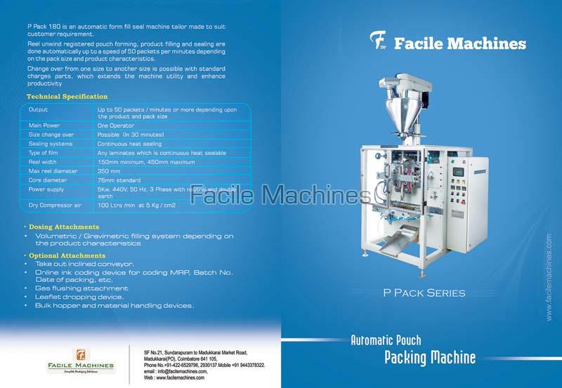 Auger Automatic Pouch Packing Machine