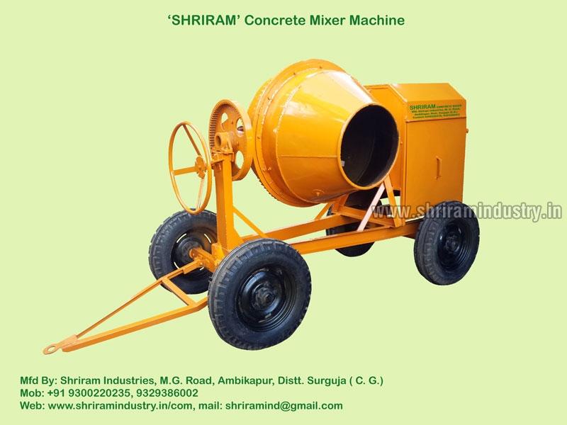 Drum Concrete Mixer 02