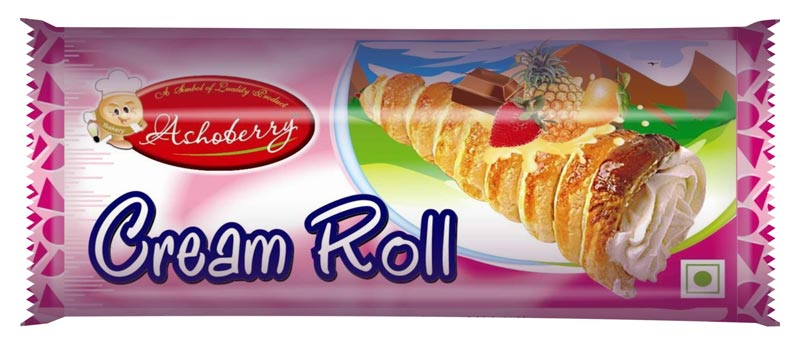Laminated Cream Rolls Packaging Pouches 01