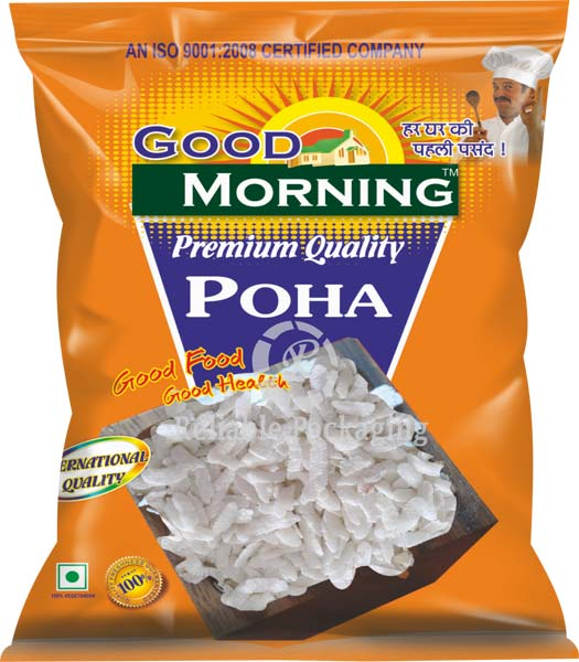 Laminated Poha Packaging Pouches 02