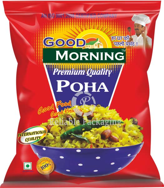 Laminated Poha Packaging Pouches 03