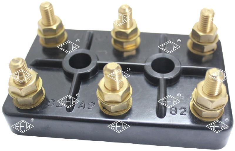 Three Phase Motor Terminal Block