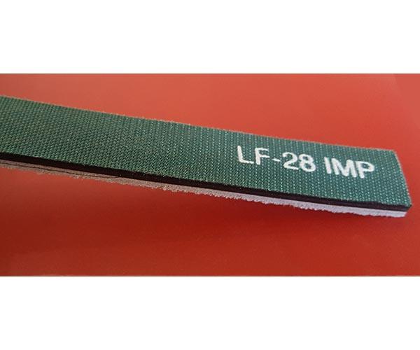 ART NO. (LF 28 IMP) Chrome Leather Flat Belts