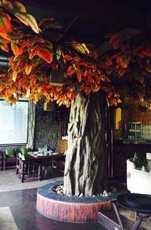 Indoor Banyan Artificial Tree