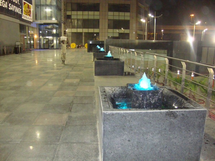 Bubbler Jet Fountains
