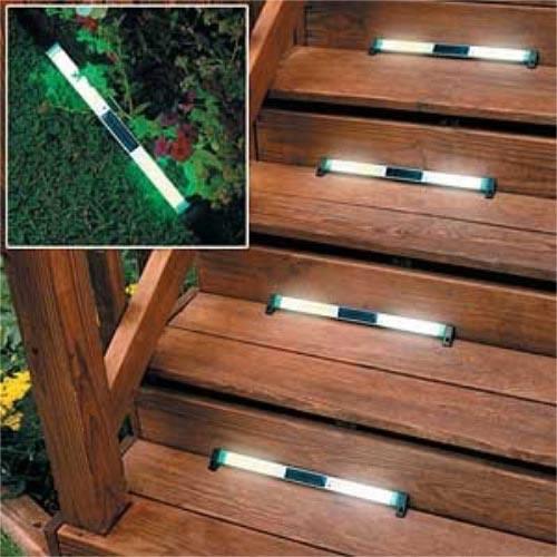 Outdoor Solar Deck Lights