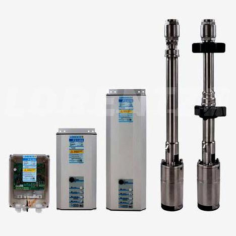 PS Helical Rotor Submersible Solar Pumps