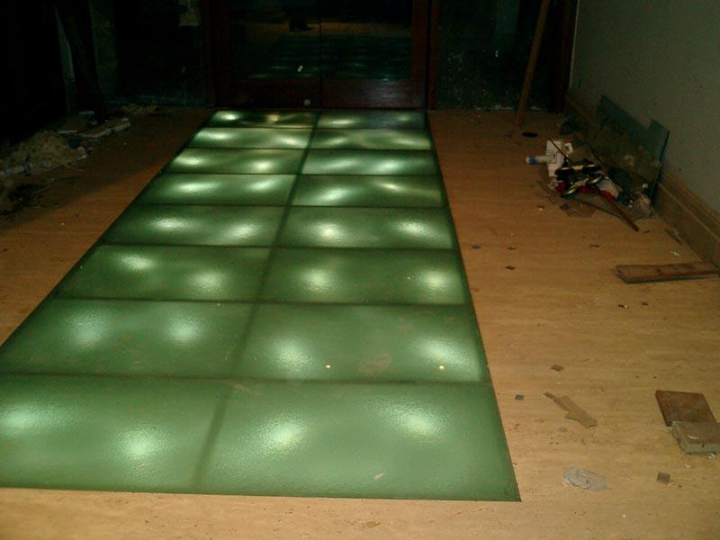 Glass Floorings