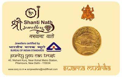 Gold Coin Card