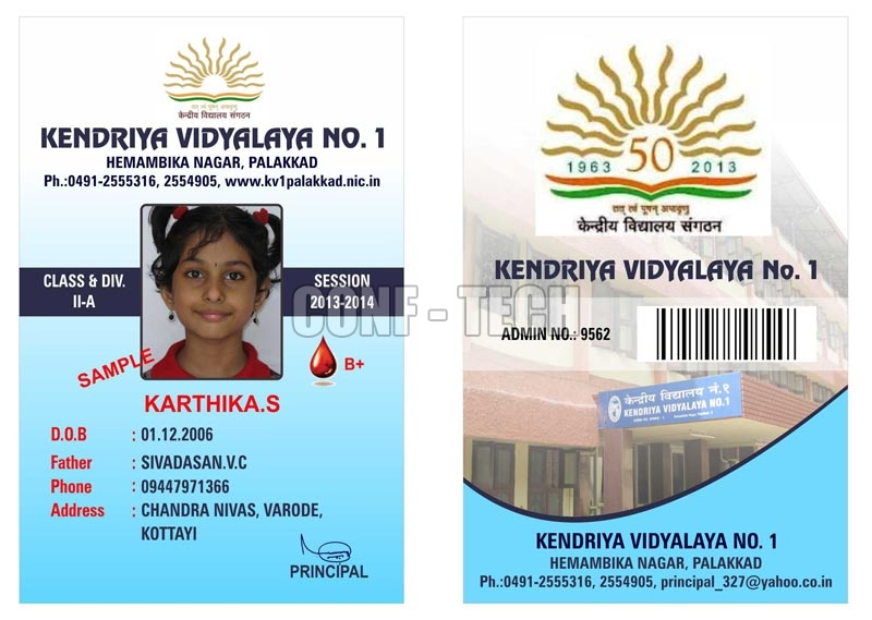 identity cards format