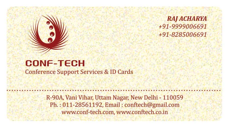 Plastic Visiting Cards