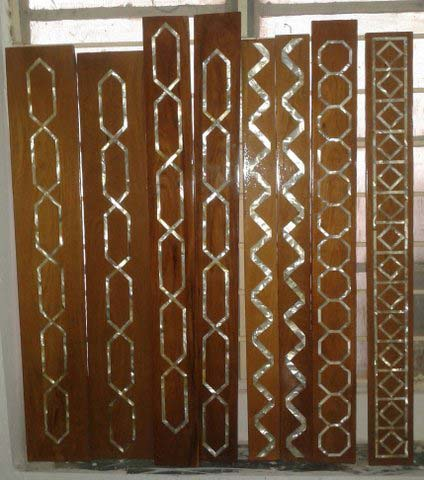 Mother of Pearl Wooden Inlay