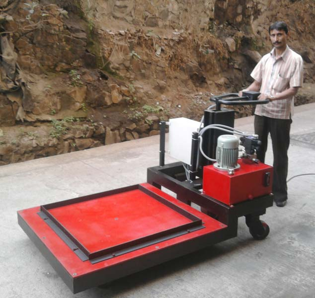 Battery Operated Platform Trolley