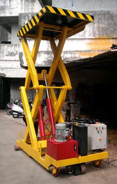 Portable Hydraulic Scissor Lifting Platform