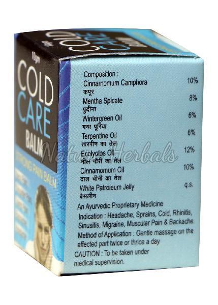Cold Care Balm