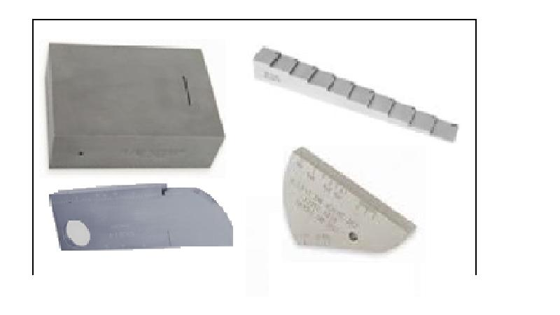ASME Calibration Block, Step wedge, IIW Block V1 & V2