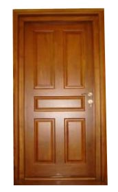 Wooden Single Doors