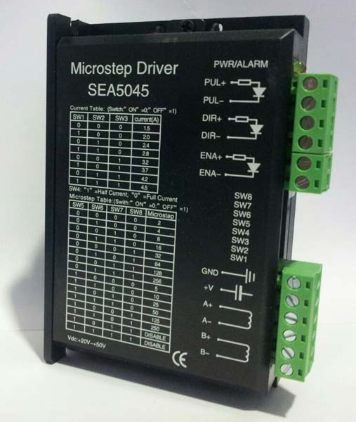 Stepper motor driver manufacturers exporters in navi for How to program stepper motor with plc