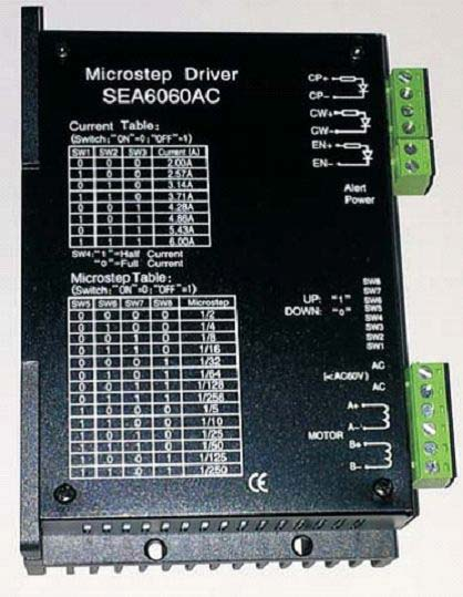 Stepper Motor Driver (SEA6060AC)