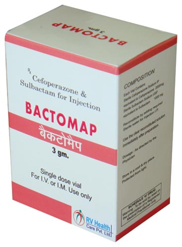 Bactomap 3 gm Injectable