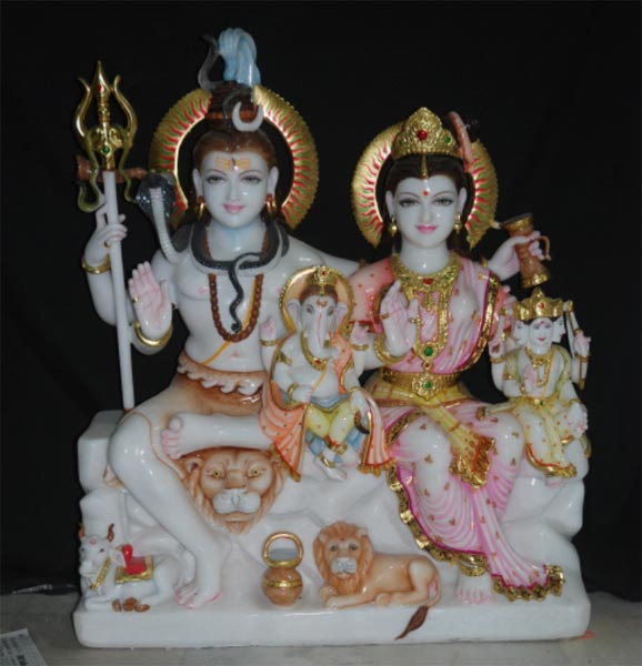 Shankar Parvati Statues
