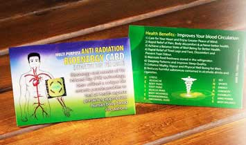Bioenergy Card